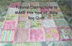 How Soft is Soft? Soft as Mink? Very FAST! Minky Baby Rag Quilt I ... & How Soft is Soft? Soft as Mink? Very FAST! Minky Baby Rag Quilt I WANT ONE! Adamdwight.com