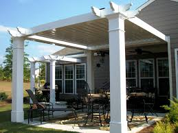 Wood Gazebo Flat Roof Top White Garden Designs Wooden Exterior Terrace  Gazebo Square Shape And Modern Front Yard To Inspire You Outdoor Gazebos  And Canopies ...