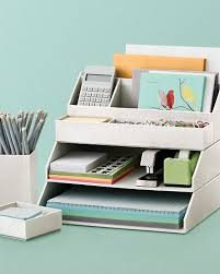 organizing office desk. Stackable Desk Accessories, Creative Home Office Organizing Ideas, Hative.com/. G