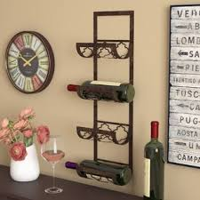 Small wine racks Crate Brashears Bottle Wall Mounted Wine Rack Wayfair Find Wine Racks For Your Kitchen Wayfair
