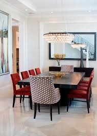 dining room chairs clearance dining room contemporary with white molding beige wall oversized mirror
