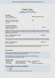 Cv Template For Residency Application Pay Resume For Math Teachers