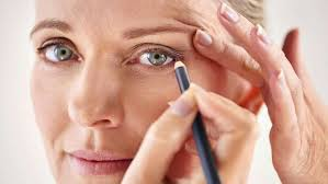 eye makeup for older women application on heavy eyelids and other