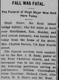 Obituary for Hugh Major - Newspapers.com