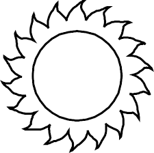 Small Picture Coloring Page Of Sun FunyColoring