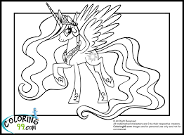 princess celestia coloring pages with wallpaper mobile inside page