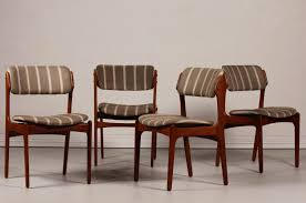 dining room chair reupholstering lovely mid century od 49 teak dining chairs by erik buch for oddense m bler