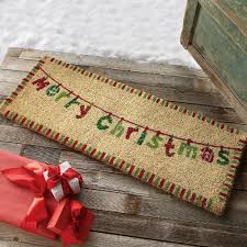christmas door mats outdoor. Double Door Mat HomesFeed Christmas Mats Outdoor