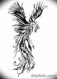 эскизы тату феникса для девушек 08032019 008 Tattoo Sketches