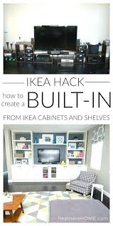 ikea office shelving. Amusing How Did We Create That Built In The Family Room Office Ideas Ikea Shelving