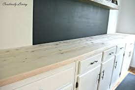 diy wood kitchen countertops how to build a countertop