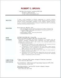Writing Objectives For Resume Examples Of Objective For Resume