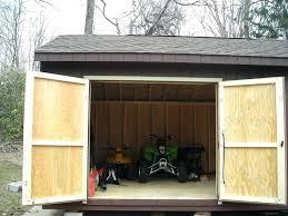how to build shed doors shed doors diy metal shed door