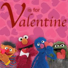 Found a box of unopened valentines day cards at the thrift store this weekend of sesame street. Sesame Street V Is For Valentine By Sesame Street On Tidal