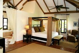Caribbean Style Bedroom Home Design