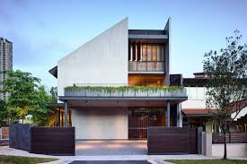 Modern Semi Detached House Design Holding Court Hyla Architects Iterate The Residential
