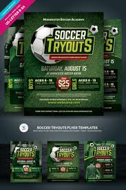 Flyer Formats Soccer Tryouts Flyer Corporate Identity Template 84947