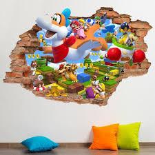 super mario 3d world wall decal wall