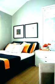 gray and orange bedroom walls grey teal