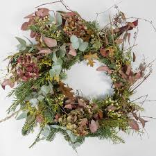 Touch of Winter Wreath by Design By Nature & Seedlip for 70 from Floom
