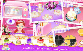 Kitchen Tea Games Princess Libby Tea Party Android Apps On Google Play