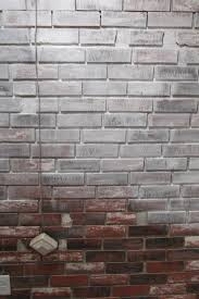 ... Fascinating Image Of Painting Faux Bricks For Home Interior Wall  Decoration : Astounding Image Of White ...