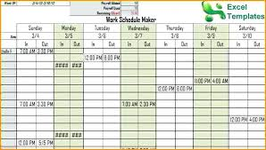 work schedule creator schedule maker excel excel schedule maker download work schedule