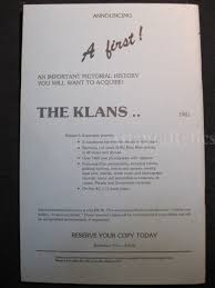 com print item 2nd edition of the birdsell book ku klux klan tokens 1981 near mint condition measures 8 5 x 5 5