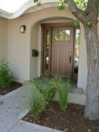 Stunning Modern Front Door With Side Lite Combined Wooden Panels ...