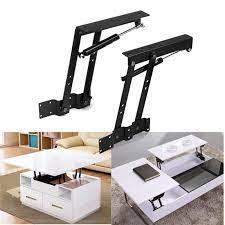 1 pair diy top coffee table mechanism