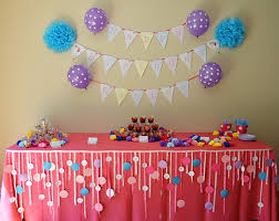 remarkable home decoration for 1st birthday party on home decor