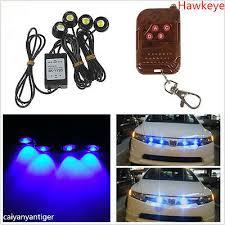 Waterproof Blue Hawkeye Cree <b>Flashing</b> Strobe <b>LED Lights</b> ...