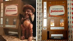 Antique Whiskey Vending Machine For Sale Gorgeous A House Isn't A Home Without A Jameson Whiskey Vending Machine