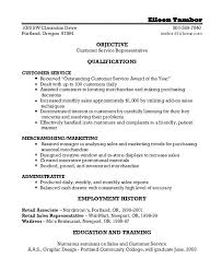 Marketing Objective Resume Objective In A Resume A Good Resume ...