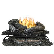pleasant hearth 24 in 33000 btu triple burner vent free gas fireplace