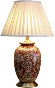 Slh Amerikanischen Keramik Tischlampe Schlafzimmer Nachttischlampe