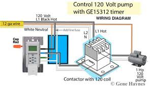 how to wire ge sunsmart timer for single pole way ge 15312 timer