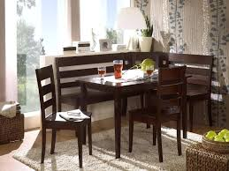 table nook set kitchen corner nook linon chelsea breakfast corner nook table set in natural