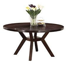 perfect 48 dining table com acme 16250 drake espresso round inch with leaf set rectangular