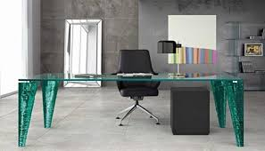 office glass desk. Office Glass Desk