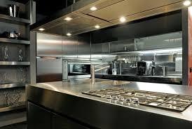 restaurant kitchen design. Brilliant Kitchen Stainless Steel Kitchen Kits With Modern Design To Restaurant L