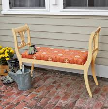 How to Build an Outdoor Bench From Dining Chairs