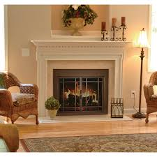 fireplace screen and glass doors wonderful pleasant hearth enfield door for masonry interiors 44