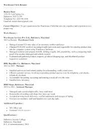 Sample Of Clerical Resume Office Clerical Resume Entry Level Office