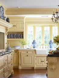 yellow country kitchens. French Country Kitchen Blue And Yellow Hawk Haven Rh Com Yellow  Country Kitchen Walls Kitchens H