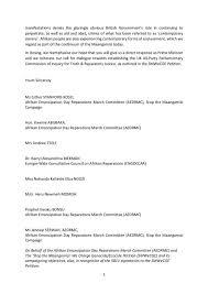 Reparatory Justice | Stopthemaangamizi.com | Page 3
