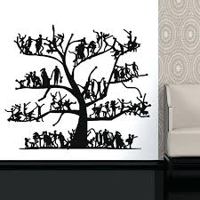 vinyl tree decal nursery decals wall