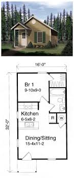 Small One Bedroom Homes House Plan 49132 Nature Will Have And Family Homes