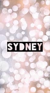 Sydney Name Design Name Artwork Sydney Name Wallpaper Names With Meaning