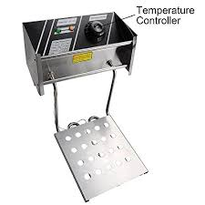 WeChef 12L 5000W Stainless Steel <b>Electric</b> Countertop <b>Deep Fryer</b> ...